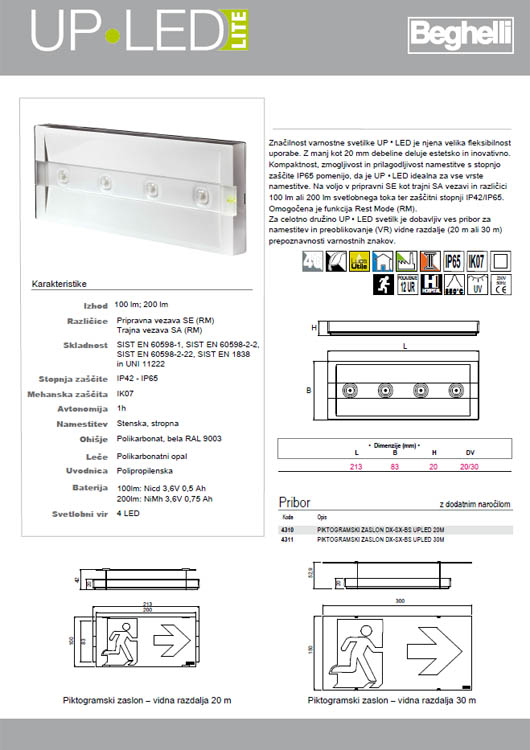 Up Led Light Katalog